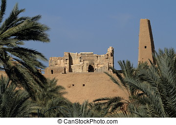 Temple of Ammon in the oasis Siwa - The Temple of Ammon in...