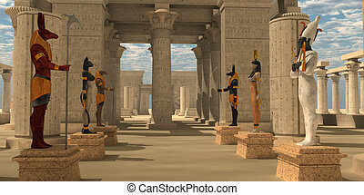 Temple of Ancient Pharaohs - A pharaoh's temple to worship...