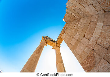 Temple of Apollo. Limassol District. Cyprus