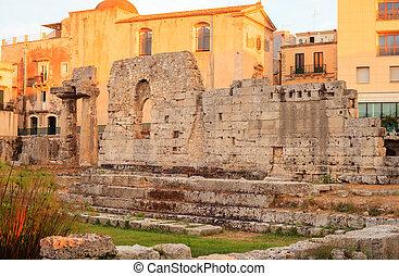 Temple of Apollo, Siracusa