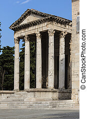 Temple of Augustus - Pula - Croatia