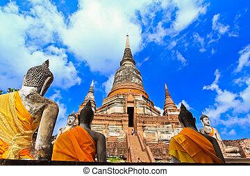 Temple of Ayuthaya, Thailand