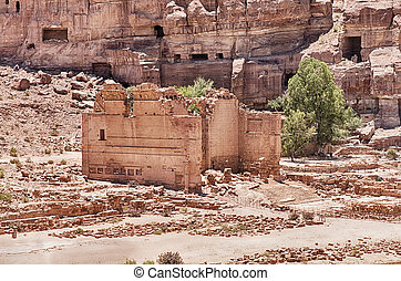 Temple of Dushares In Petra
