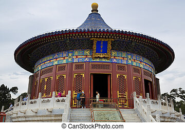 Temple of Heaven, Beijing, China - The beautiful view of the...