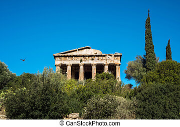 temple of Hephaestus in Ancient Agora, Athens