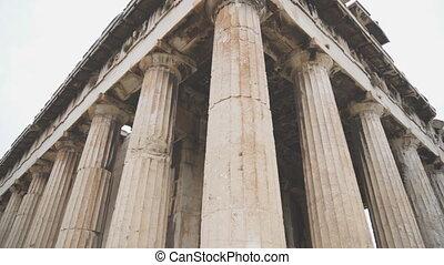 Temple of Hephaestus in Athens, Greece.