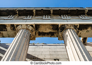 temple of Hephaestus in Athens