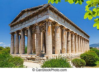 Temple of Hephaestus in Athens