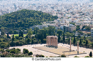 Temple of Olympian Zeus, Athens Greece