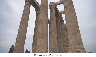 Temple of Olympian Zeus in Athens, Greece.