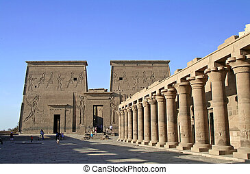 Temple of Philae at Aswan, Egypt