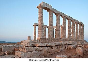 Temple of Poseidon.