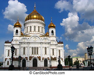 "temple of Russia - Moscow. The temple ""Christ –..."