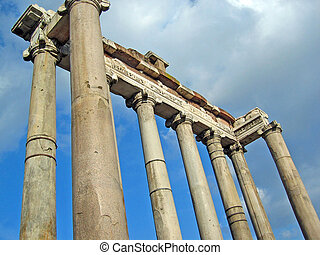 Temple of Saturn in Roman Forum
