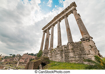 Temple of Saturn Ruins
