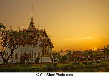 temple of Thailand - ancient city,Ayutthaya Thailand