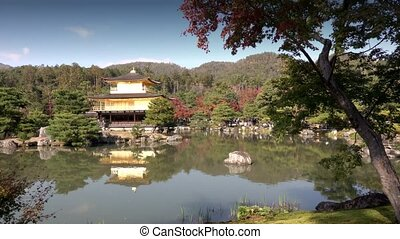 Temple of the Golden Pavilion Kinkaku-ji, Kyoto Japan - Zen ...