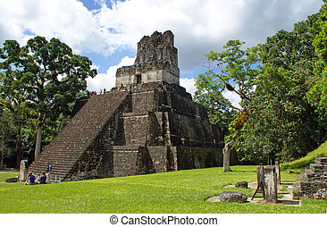 Temple of the Mask in Tikal, Guatemala was built around AD...