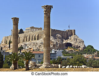 Temple of the Olympian Zeus and the