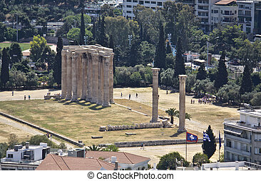 Temple of the Olympian Zeus at Athe