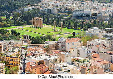Temple of the Olympian Zeus at Athens