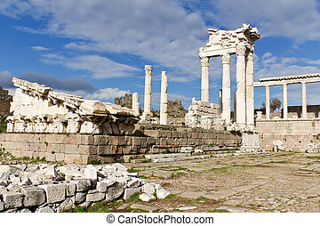 Temple of Trajan, Pergamon, Turkey