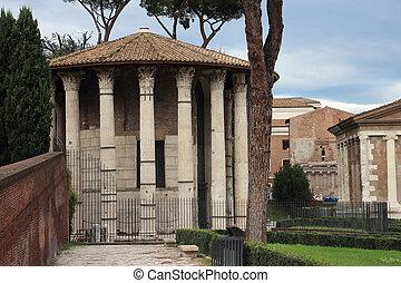 Temple of Vesta in Rome