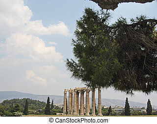 Temple of Zeus Athens