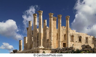 Temple of Zeus, Jerash,Jordan