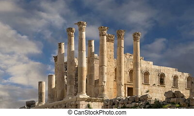 Temple of Zeus,Jerash,Jordan