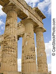 temple on sicily