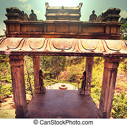 Temple on Sri Lanka
