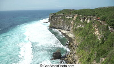 Temple Pura Luhur Uluwatu is one of several important temples to spirits of sea