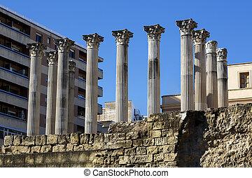 temple romain, cordoue