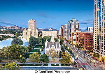 Temple Square, Salt Lake City, Utah, USA