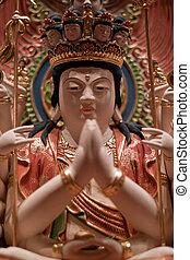 temple, statue