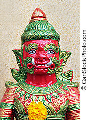 Temple warrior