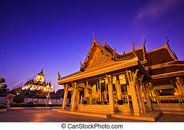 Temple wat in bangkok thailand