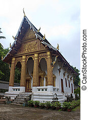 Temple Wat Siphoutthabath in Luang Prabang, Laos