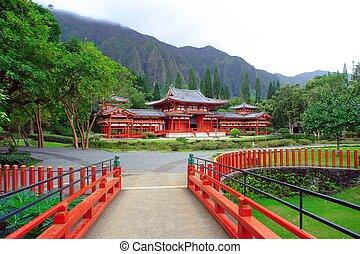 templo, byodo-in