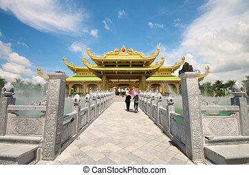 templo, da, nam, vietnam