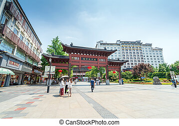 templo de confucius, nanjing