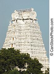 templo, desam, azhagiya, dentro, sri, manavala, divya,...