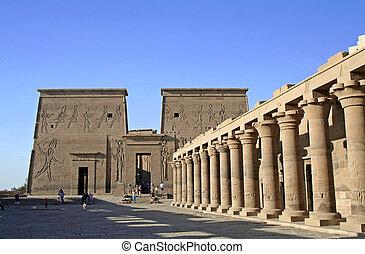 templo, philae