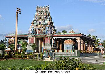 templo, siva, fiji, subramaniya, nadi, sri