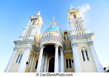 templom, alatt, ilheus