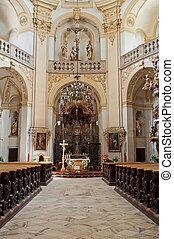 templom, belső