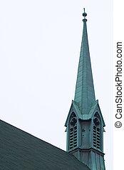 templom, külső, templomtorony