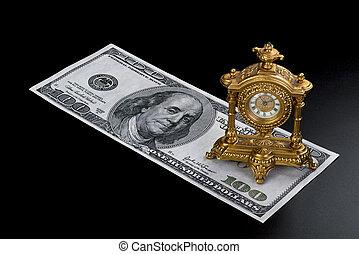 tempo, é, dinheiro.