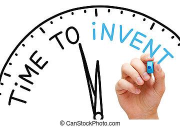tempo, a, inventare